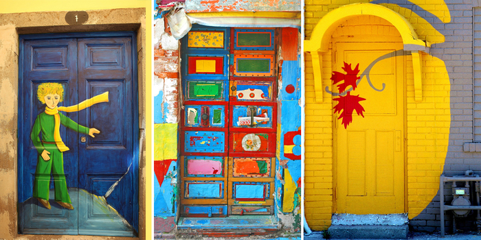 30 beautiful doors that seem to lead to other worlds - Puertas originales ...
