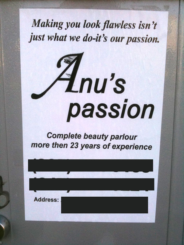 Experience Anu's Passion!