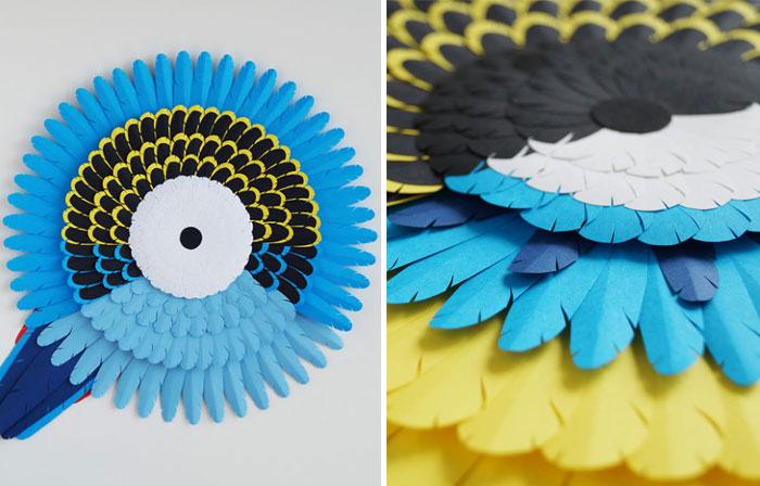 My Paper Art Inspired By Australian Birds