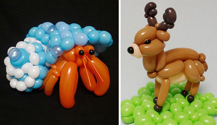 Incredibly Detailed Balloon Animals By Japanese Artist