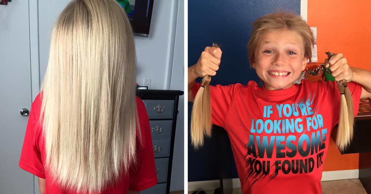 Remarkable This 8 Year Old Was Bullied For 2 Years While Growing His Hair Hairstyle Inspiration Daily Dogsangcom