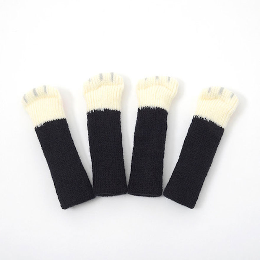 Cat Socks For Tables And Chairs That Protect Your Floor | Bored Panda