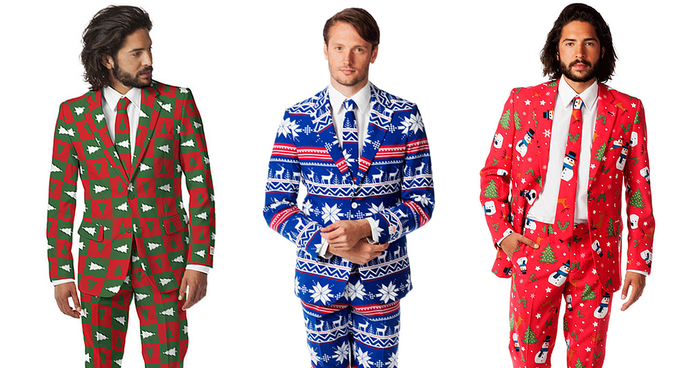 38840d011 Ugly Christmas Sweaters Turned Into Stylish Suits | Bored Panda