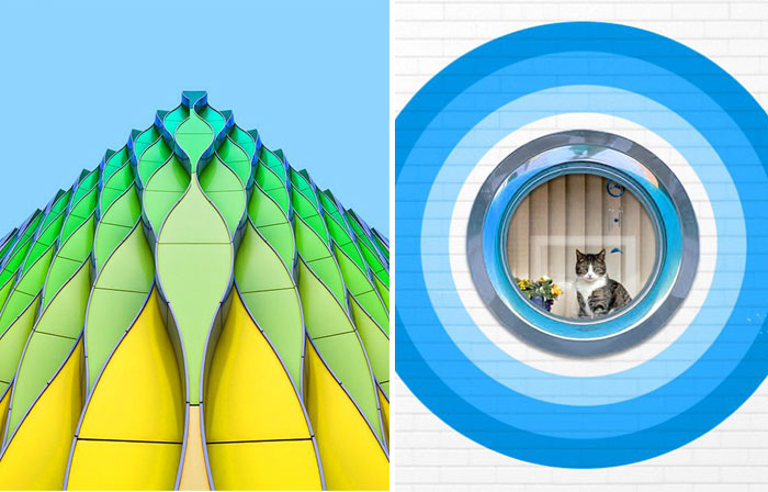 Minimal, Symmetric, Colorful: My Photos Of Architectural Structures