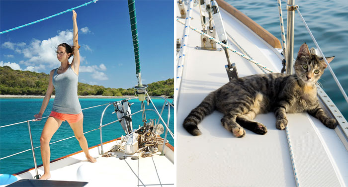 Couple Quits Jobs And Sells Everything To Travel The World With Their Cat