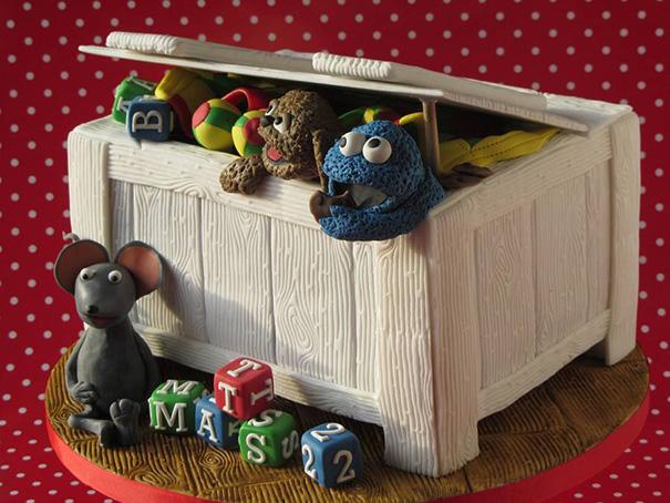 Toybox In Sesamestreet Theme
