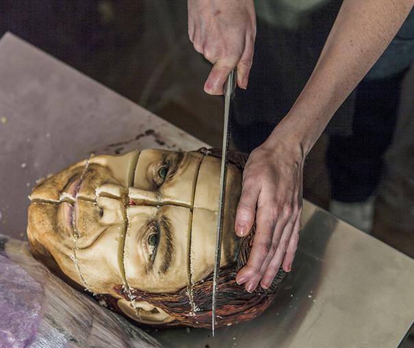 Creepy Realistic Cake