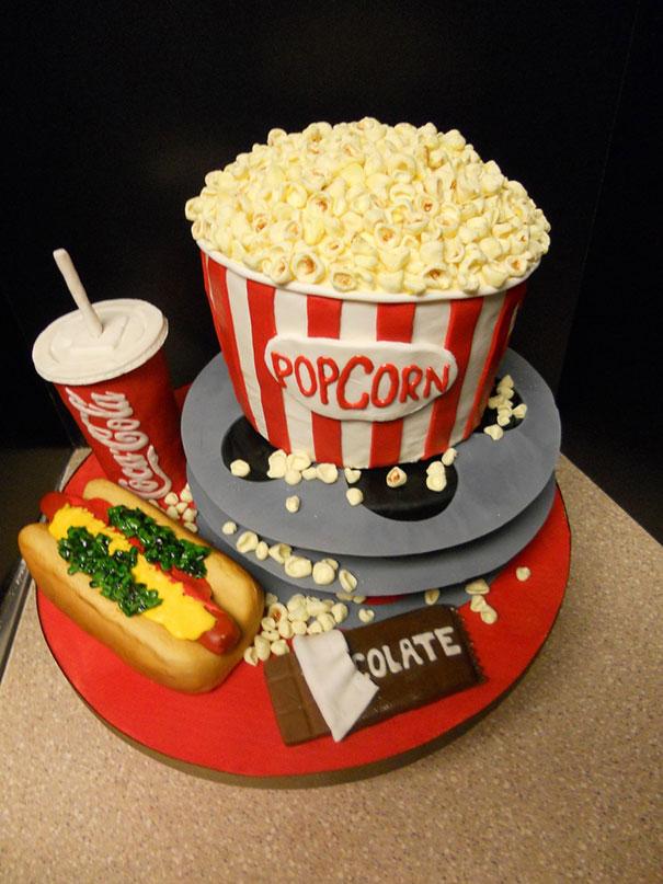 Movie-themed Cake