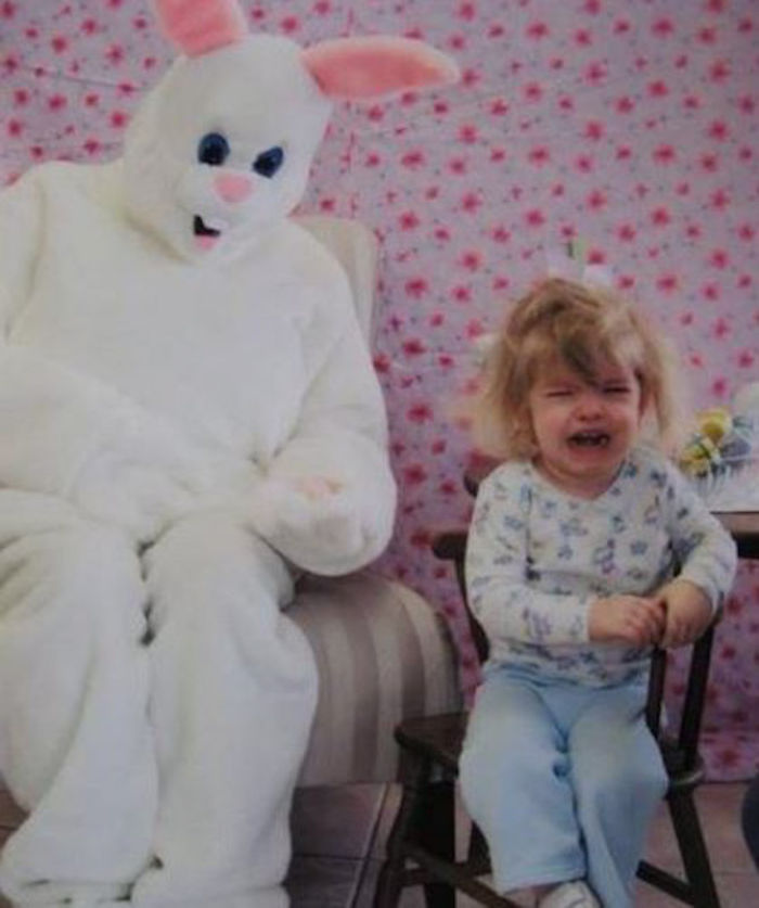 Bunny Maniacs Frightening Children.