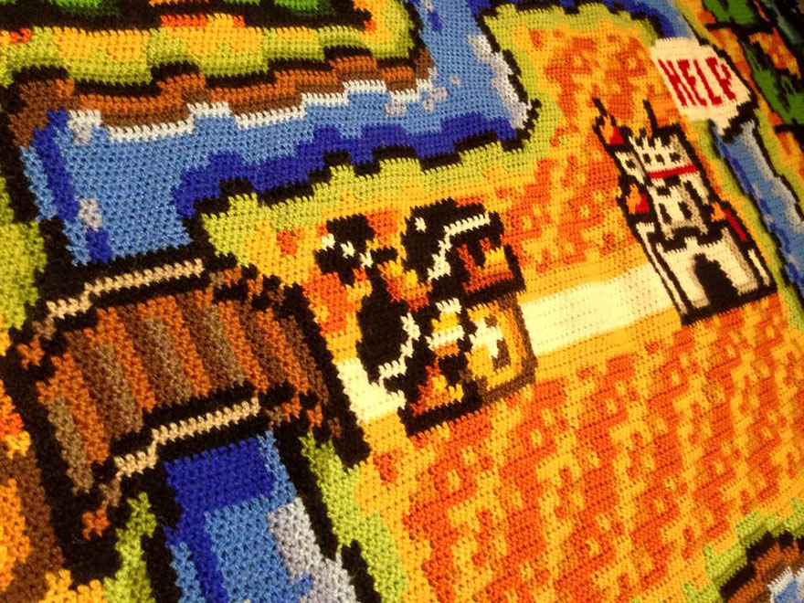 crocheted-super-mario-blanket-kjetil-nordin-4