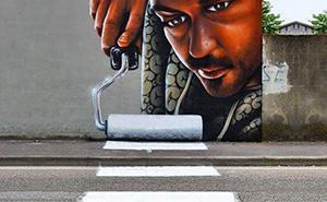 Interactive Street Art In Italy By Caiffa Cosimo
