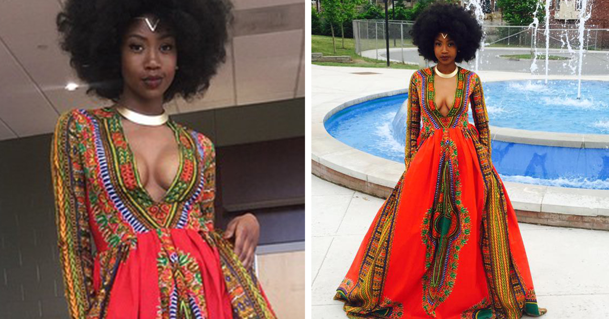 Bullied Teen Designs Her Own Prom Dress To Fight Bullying And ...