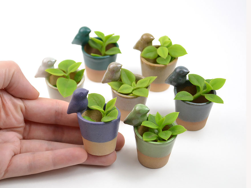 adorable little animal planters that will protect your