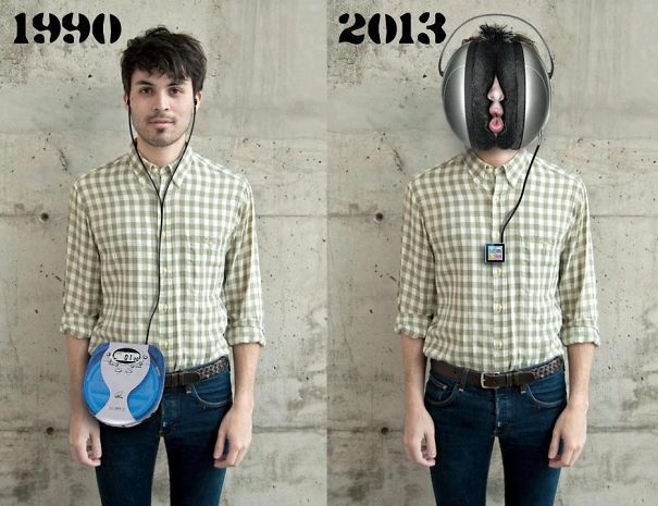 Music Players Now And Then