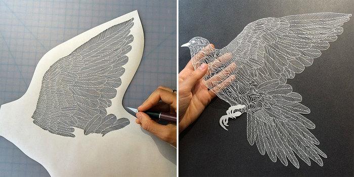 Incredibly Intricate Hand-Cut Paper Art By Maude White | Bored Panda