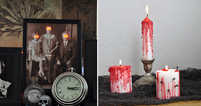 easy diy halloween home decorations - Halloween Home Decor