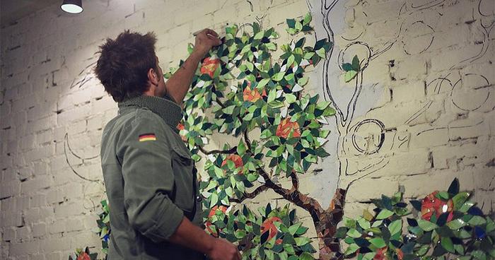 Fresa de la evolución :: Muestras del árbol anaranjado