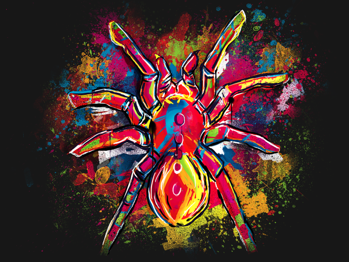 "Spider By Kent Johnson ""the Almighty Aeophex"""