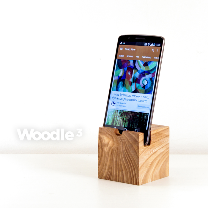 I Created Handmade Minimalistic Wooden Device Cradle Charger: Woodle ³