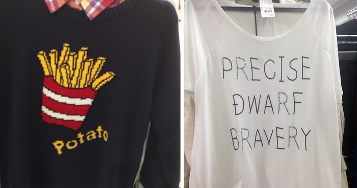 English Teacher Went To Japanese Clothing Stores And Got