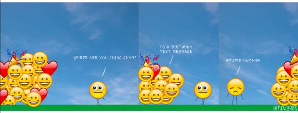 Damn Emojis!