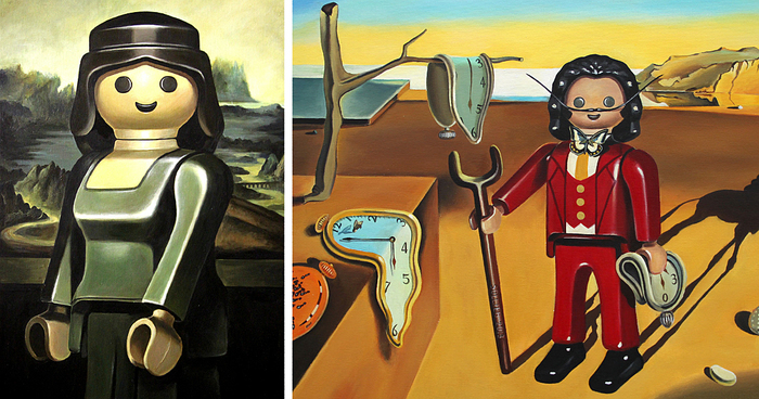 I Reimagine Famous Paintings With Playmobil Figures As