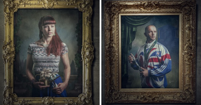 Victorian Chic House With A Modern Twist: My Victorian-Style Portraits With A Modern Twist