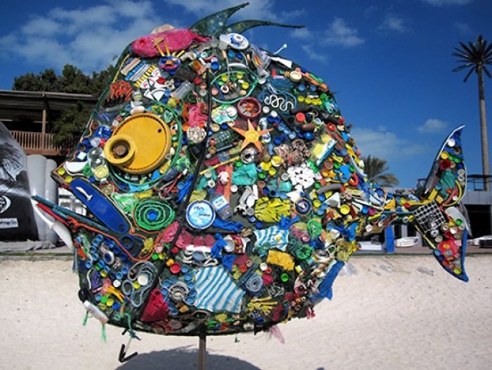 Surfers Turn Trash Into Amazing Art