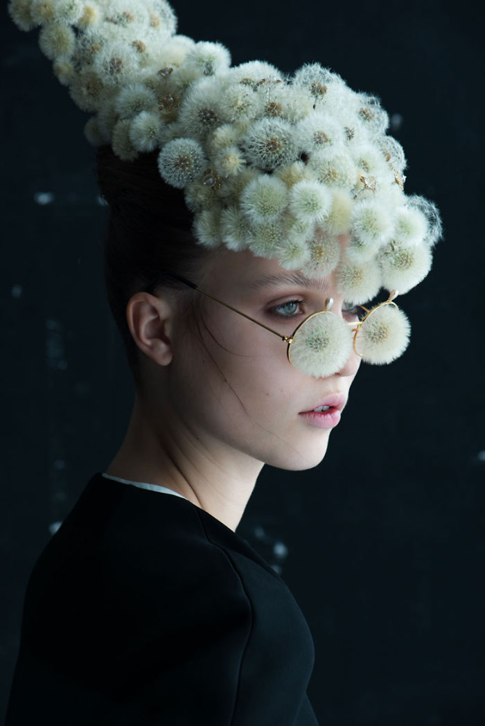 Flower Portraits By Isabelle Chapuis & Duy Anh Nhan Duc