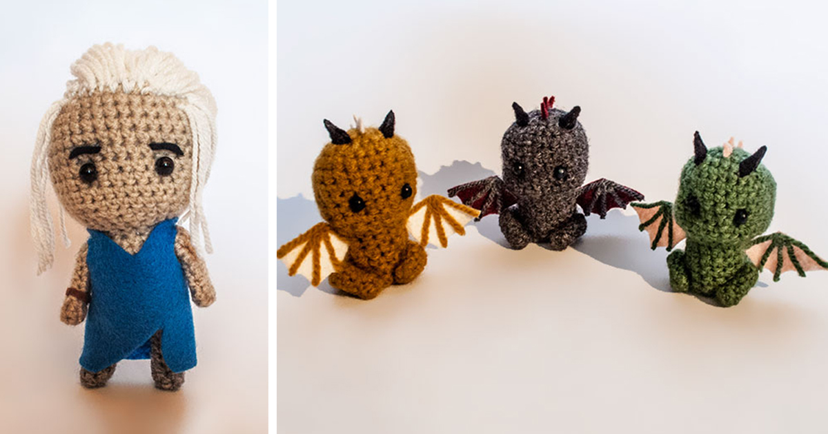 Crocheting Games : Crochet Game Of Thrones Characters Bored Panda