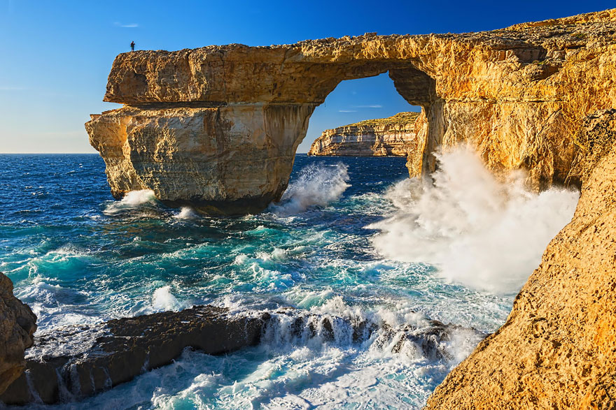 Daenery's And Dragos Wedding: Azure Window, Malta