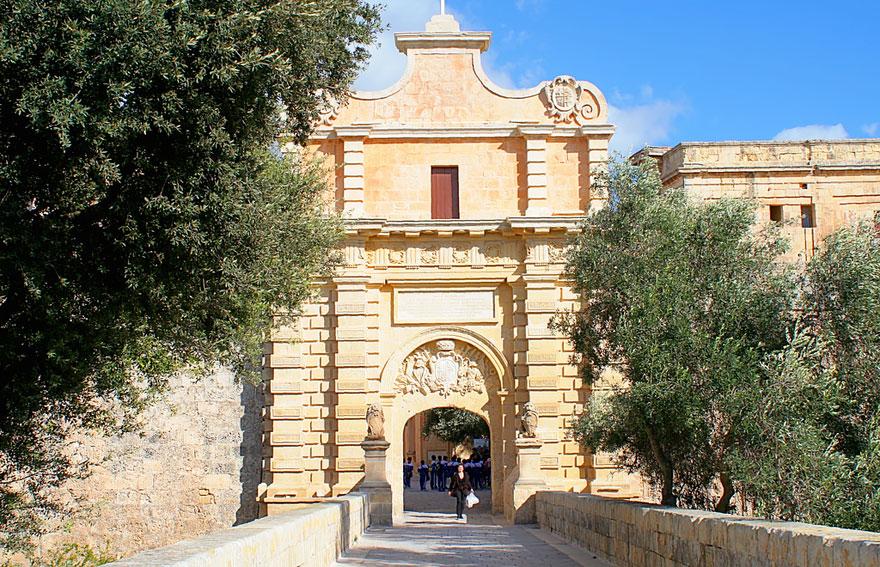 King's Landing Gate: Mdina, Malta