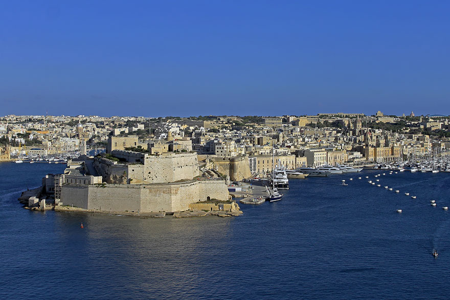 Sowbelly Row: Fort St Elmo, Malta