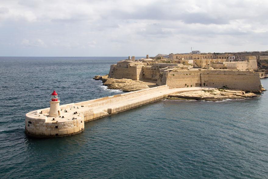 Red Keep: Fort Ricasoli, Malta