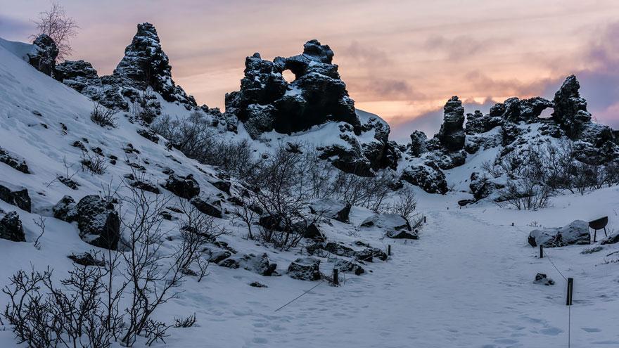 Wildling Camp: Dimmuborgir, Iceland