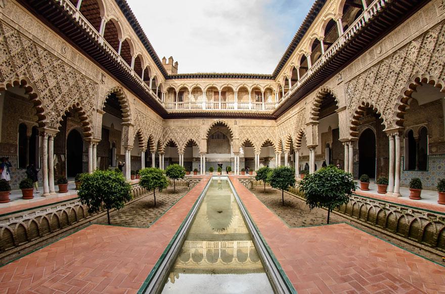 Royal Palace Of Dorne: Real Alcázar Palace, Seville, Spain