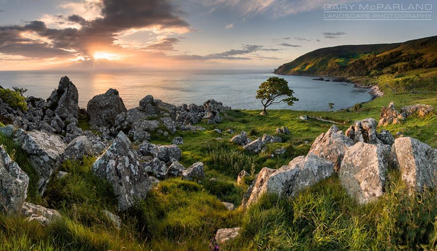 Iron Island: Murlough Bay, Northern Ireland