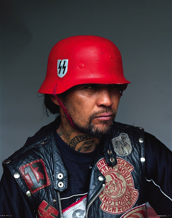 Gripping Photos of New Zealand's Largest Gang Will Make You Tremble