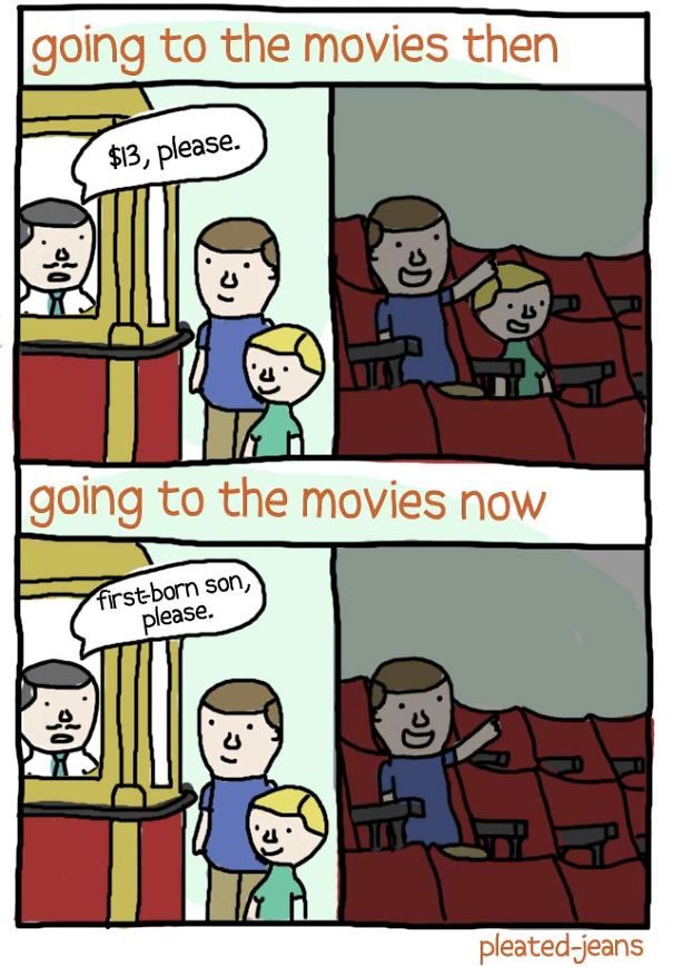 Going To The Movies: Then And Now