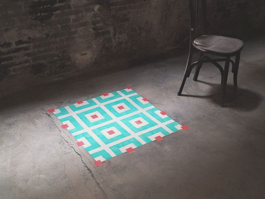 graffiti-spray-paint-tile-pattern-floor-installations-javier-de-riba-6