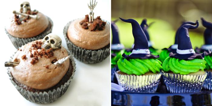 tasty halloween cupcakes
