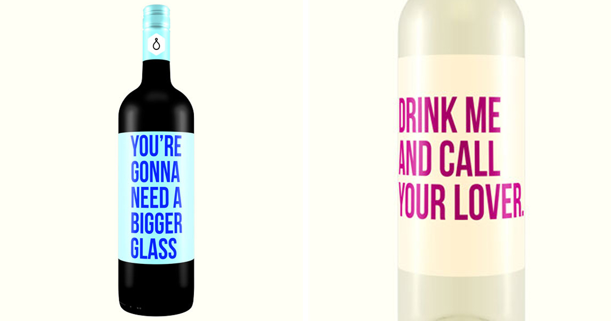 Honest Wine Labels That Have No Time For Your Crap | Bored ...