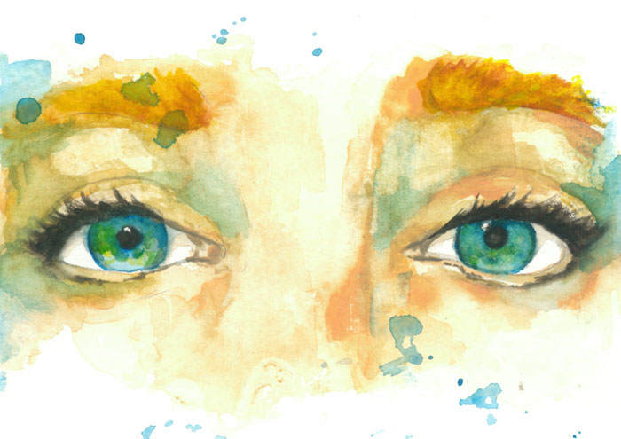 I Paint The Eyes Of Vulnerable People To Show That Vulnerability Is OK