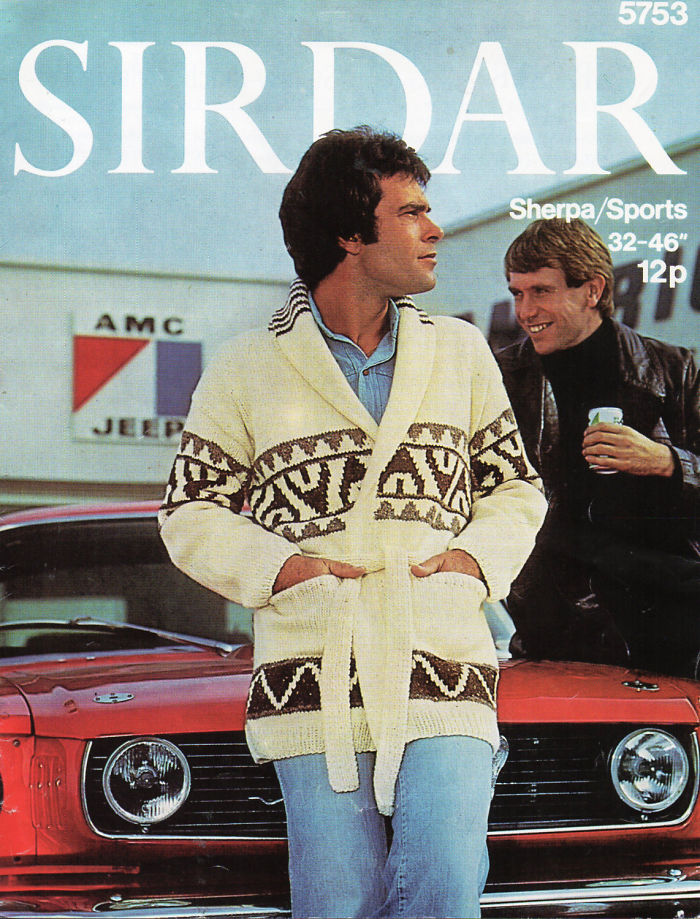 Starsky & Hutch Style Knit Jacket