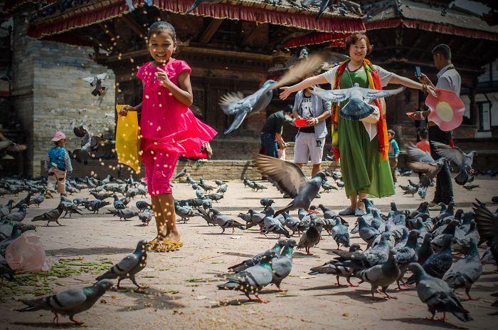 Durbar Square, Kathmandu – 10 Days Before The Earthquake