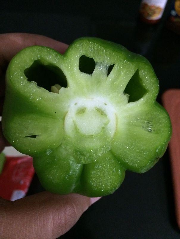 Smiley Capsicum !!