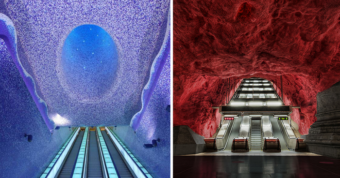 15 Of The Most Beautiful Metro Stations In The World