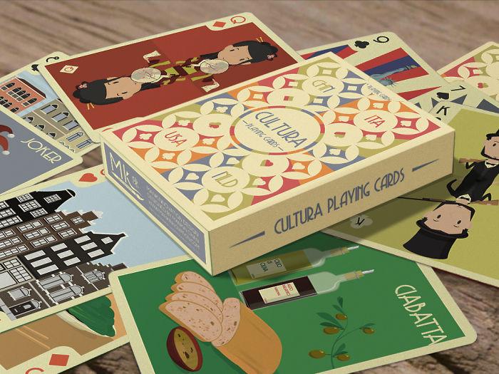 Cultura Playing Cards (live On Kickstarter)