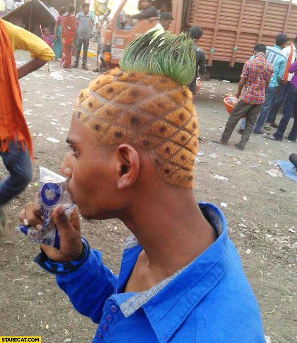 He's All Pineapple