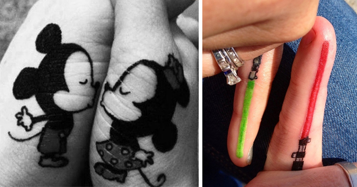 87 Matching Couple Tattoos For Lovers That Will Grow Old Together